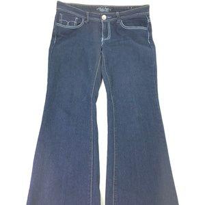 DSO Denim Women Boot Cut Jeans Sz 7x32 P195